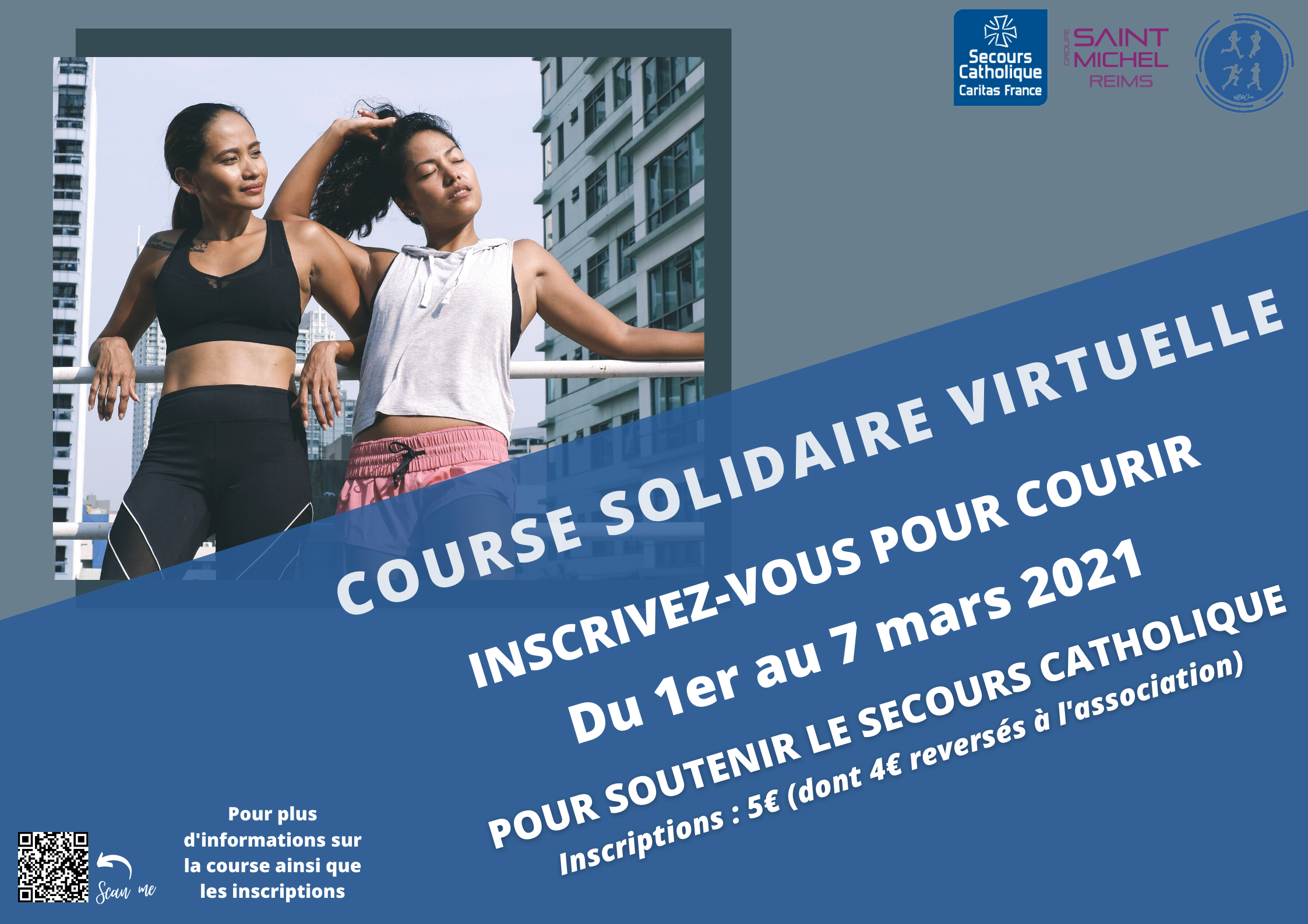 COURSE SOLIDAIRE VIRTUELLE - MARS 2021